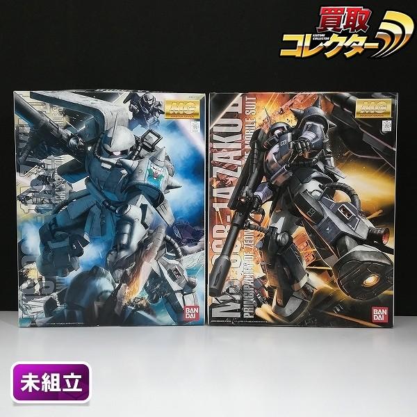 MG 1/100 シン・マツナガ専用ザク Ver.2.0 黒い三連星ザク Ver.2.0_1