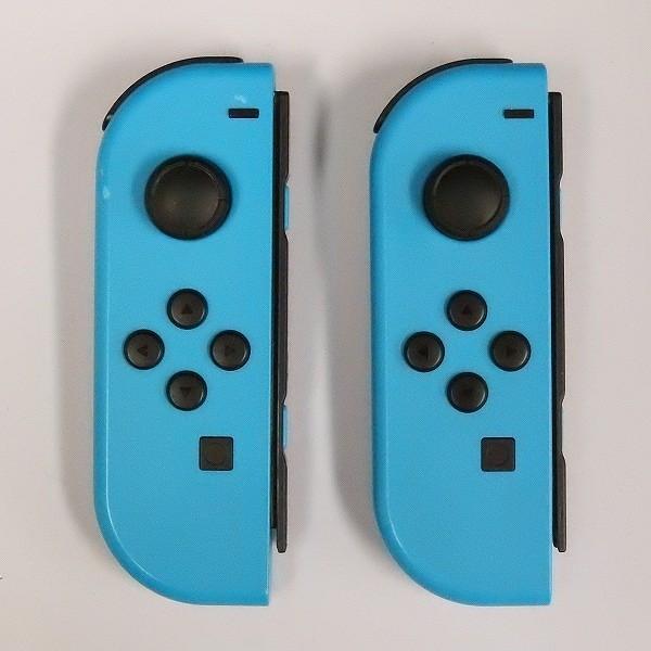 Nintendo Switch ジョイコン(L) ネオンブルー ×2 ジョイコン(R) グレー ×1_2