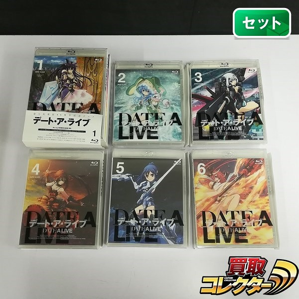 Blu-ray デート・ア・ライブ 初回限定生産 全6巻_1