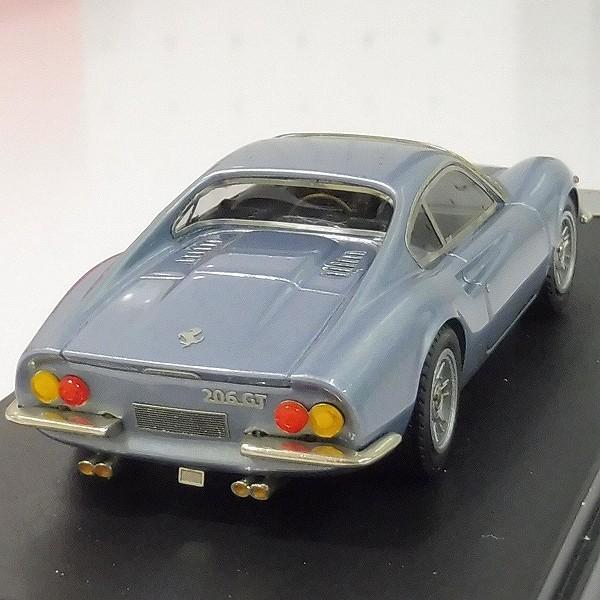 ルックスマート 1/43 フェラーリ デイーノ206GT メタリックライトブルー_3