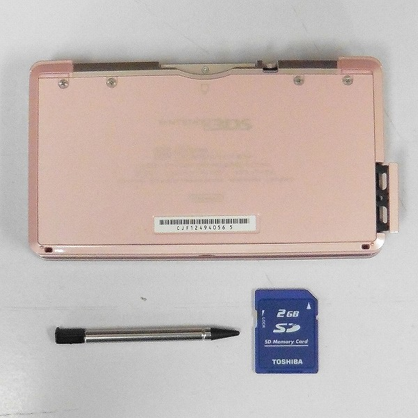ニンテンドー 3DS ミスティピンク + マリオカート7 ソフト ハンドル_2