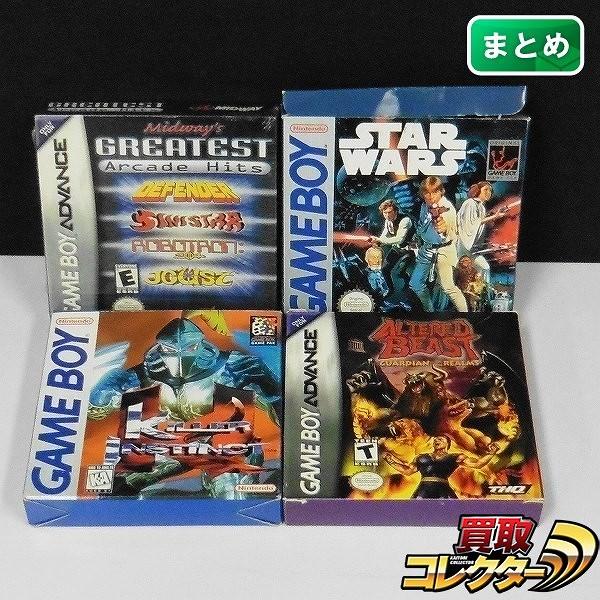 海外版 GB GBA ソフト キラーインスティンクト スターウォーズ 他_1