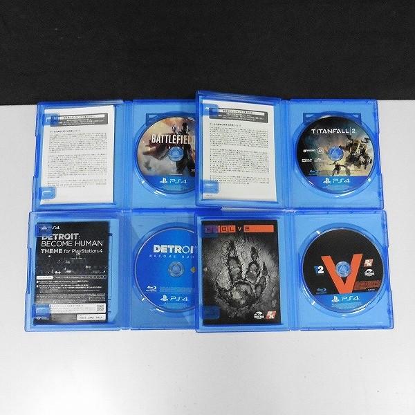 PS4 ソフト DETROIT TITANFALL2 EVOLVE BATTLEFIELD1_3