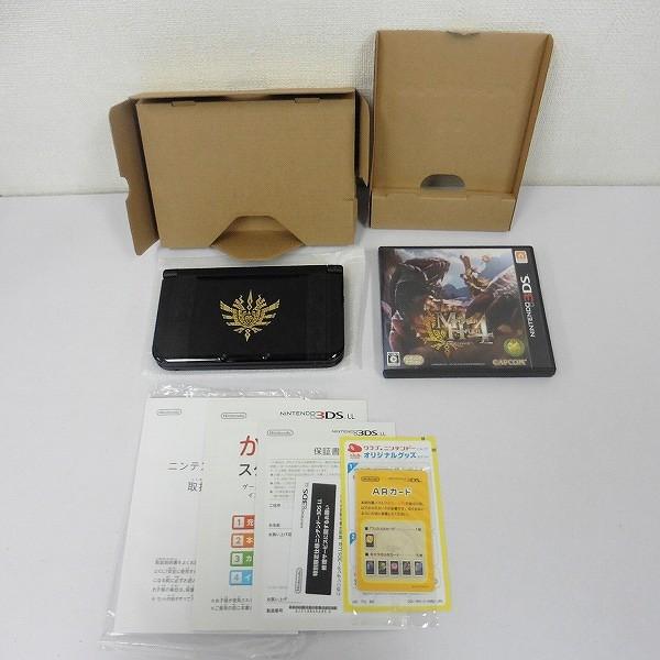 ニンテンドー 3DS LL モンスターハンター4 スペシャルパック ゴア・マガラブラック_2