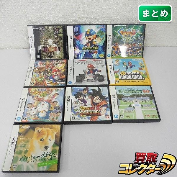 DS ソフト フロントミッション1st マリオパーティDS ダービースタリオンDS 他_1