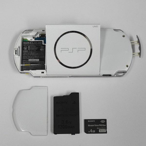SONY PSP-3000 + ソフト 10点 ペルソナ3 麻雀格闘倶楽部 全国対戦版 他_3