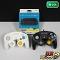 ゲームキューブ コントローラ ホワイト ブラック + Wii U ゲームキューブコントローラ接続タップ