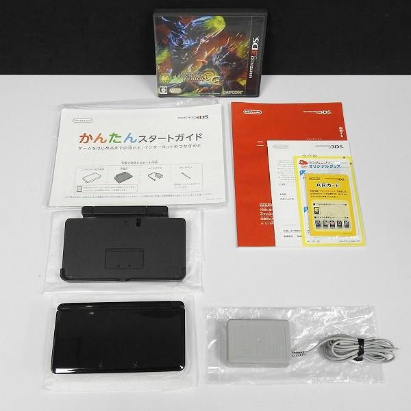 ニンテンドー 3DS モンスターハンター3G はじめてハンターパック_2