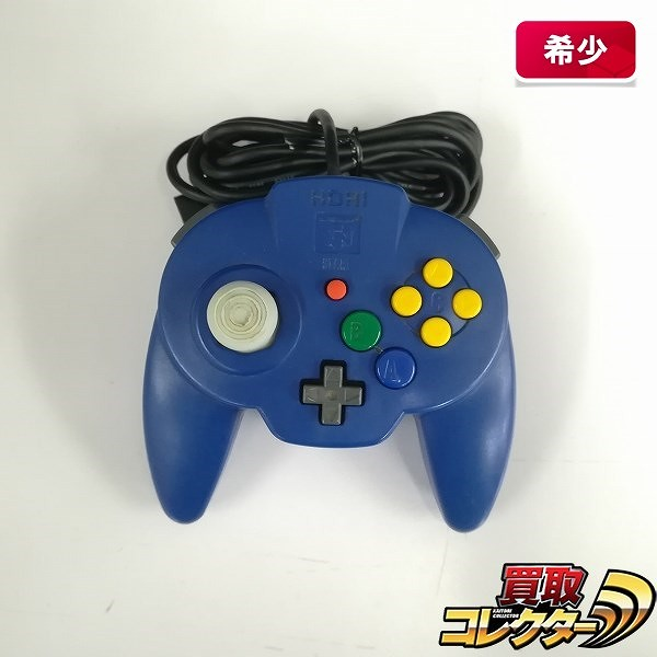 HORI ホリパッドミニ64 ブルー NINTENDO64 専用コントローラ_1