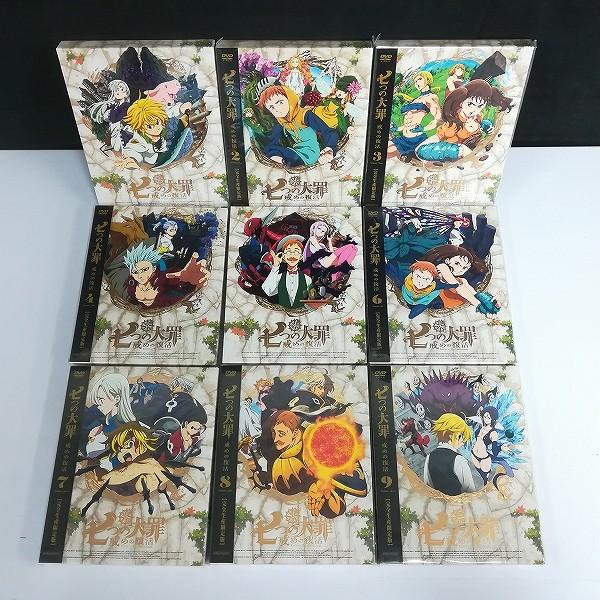 DVD 七つの大罪 戒めの復活 全9巻 収納BOX付_3