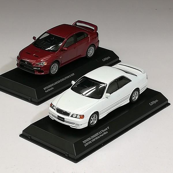 京商 1/43 トヨタ チェイサー2.5 ツアラーV 日産 GT-R R35 他_3