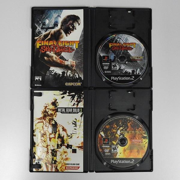 PS2 海外/北米版 ソフト ファイナルファイト ストリートワイズ 他_2