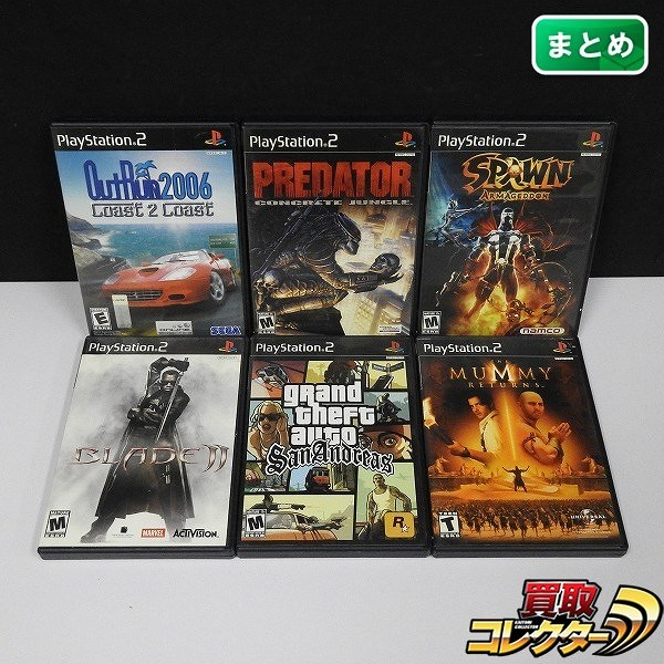 PS2 海外/北米版 SPAWN ARMAGEDDON PREDATOR CONCRETE JUNGLE 他_1