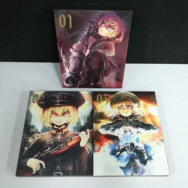 DVD 幼女戦記 初回生産限定版 全3巻 収納BOX付_3