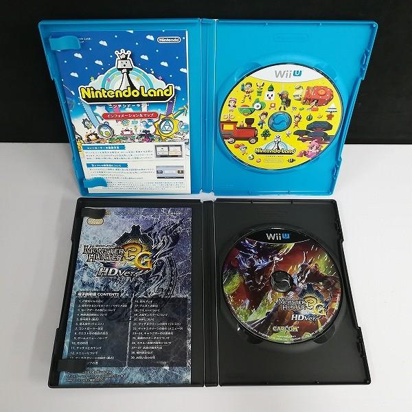 Wii U ソフト モンスターハンター3G HD Ver. ピクミン3 ニンテンドーランド 他_3