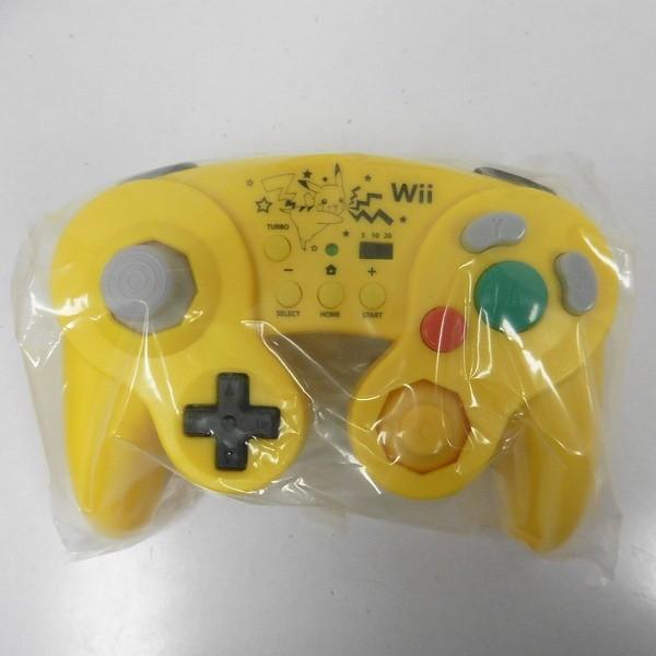 WiiU ホリ クラシックコントローラー ポケットモンスターXY ピカチュウ ×2_3
