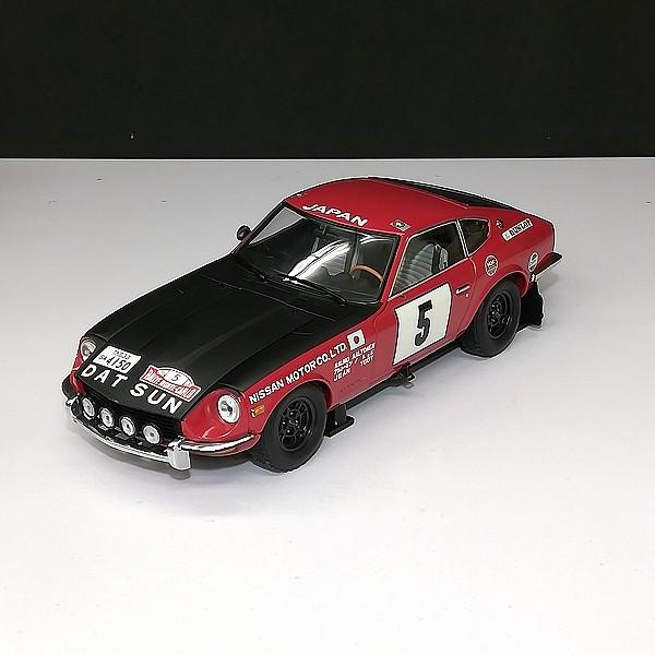 京商 1/18 ダットサン 240Z 1972 モンテカルロ #5 RED/BLACK_2