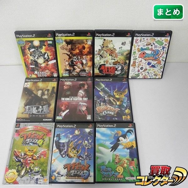 PS2 ソフト メタルスラッグ4 メタルスラッグ5 ラチェット&クランク3 パラッパラッパー2 他_1