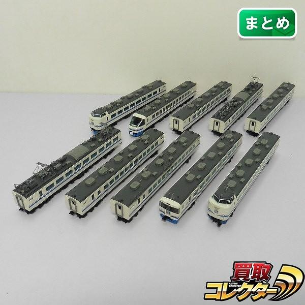 TOMIX Nゲージ JR 485系 特急電車 スーパー雷鳥 10両_1