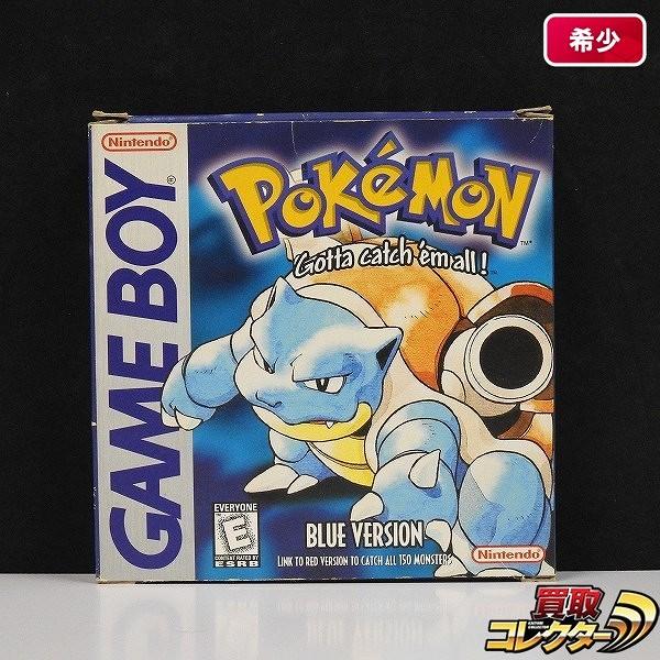 ゲームボーイ ポケットモンスター 青 Pokemon Blue Version 北米版