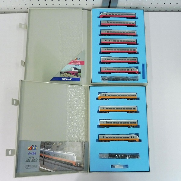 MICROACE A-4810 A-4850 E653系フレッシュひたち 赤編成 朱編成_2