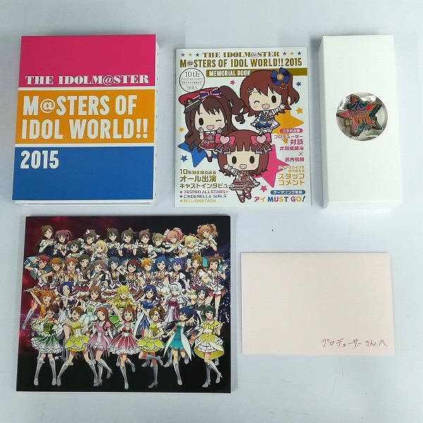 BD THE IDOLM@STER M@STERS OF IDOL WORLD!! 2015 PERFECT BOX_2