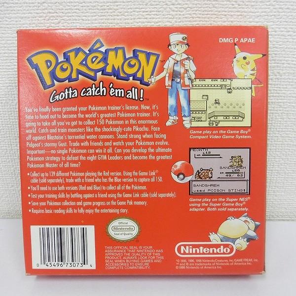 ゲームボーイ ソフト ポケットモンスター 赤  Pokemon RED VERSION 北米版_2
