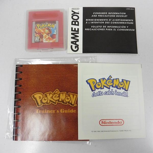 ゲームボーイ ソフト ポケットモンスター 赤  Pokemon RED VERSION 北米版_3