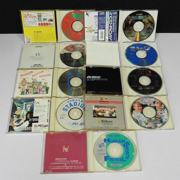 PCエンジン SUPER CD-ROM2/CD-ROM2 ソフト ぱにっくボンバー 電々の伝 コブラII 伝説の男 他_3