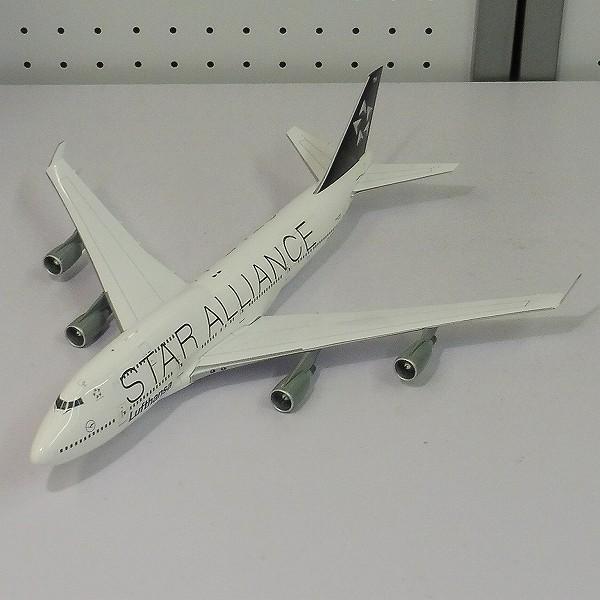 JC WINGS 1/200 スターアライアンス B747-4007ルフトハンザ航空_3