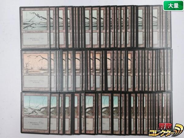 MTG 基本土地 沼 Swamp 日本語版 計120枚 第4版 黒枠 絵柄3種_1