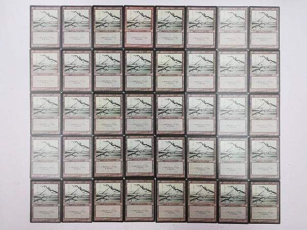 MTG 基本土地 沼 Swamp 日本語版 計120枚 第4版 黒枠 絵柄3種_2