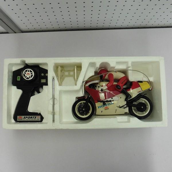 京商 電動ラジコン 1/7 オートバイ FA ホンダレーサー NSR500_2