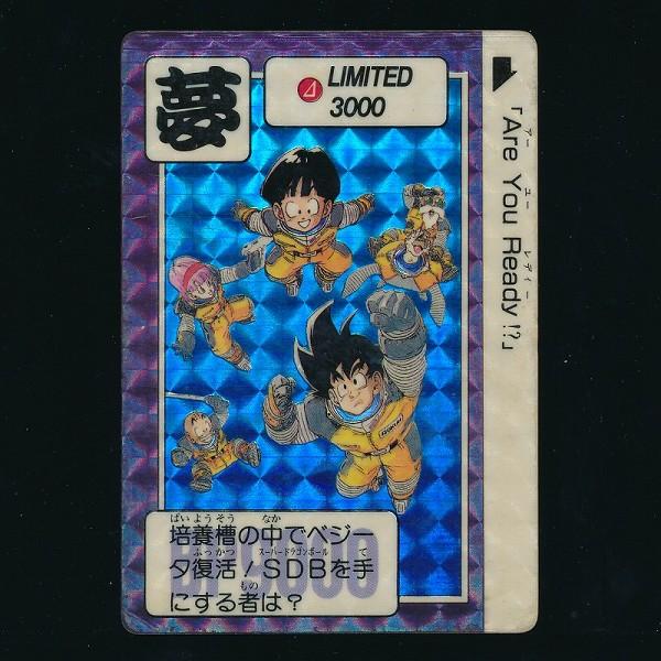 ドラゴンボール カードダス 3弾発売記念 LIMITED3000 2弾 抽プレ_2