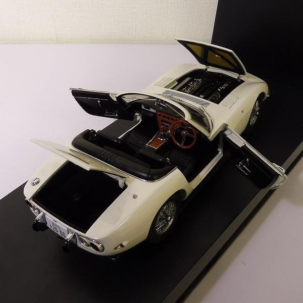 オートアート 007 The James Bond Collection 1/18 トヨタ 2000GT カブリオレ ホワイト_3