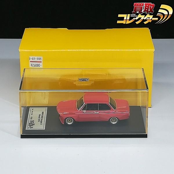 SCALA 1/43 BMW 2002 Gruppe 2 Street 1974 レッド K63_1