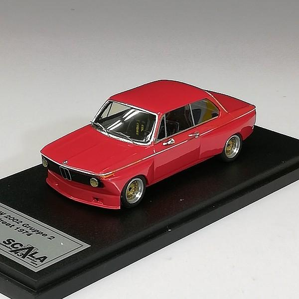 SCALA 1/43 BMW 2002 Gruppe 2 Street 1974 レッド K63_3