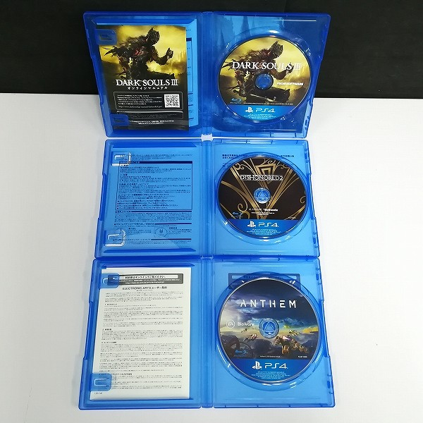PS4 ソフト アンセム ダークソウルIII ディスオナード2_3