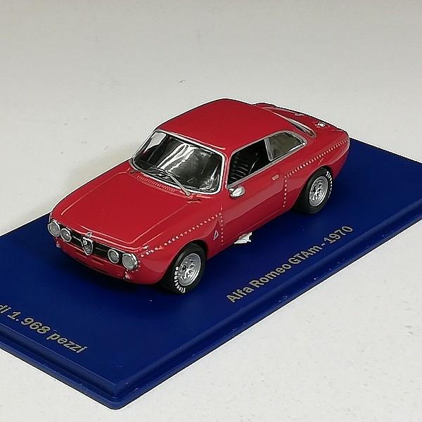 M4 1/43 アルファロメオ GTAm 1970 + アルファロメオ 33.2 Fleron 1697 Prova_3