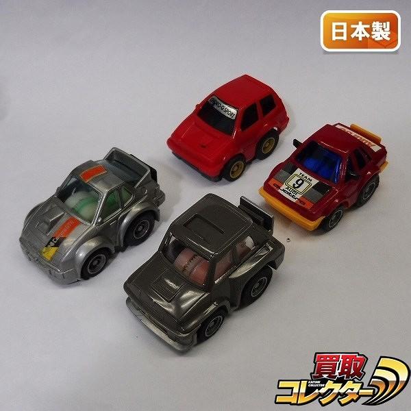 チョロQ A品番 日本製 ポルシェ924 シビックSi アウディ80クワトロ 他_1