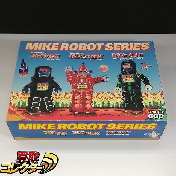 マイクインターナショナル MIKE ROBOT SERIES 3体セット ブリキ ゼンマイ_1