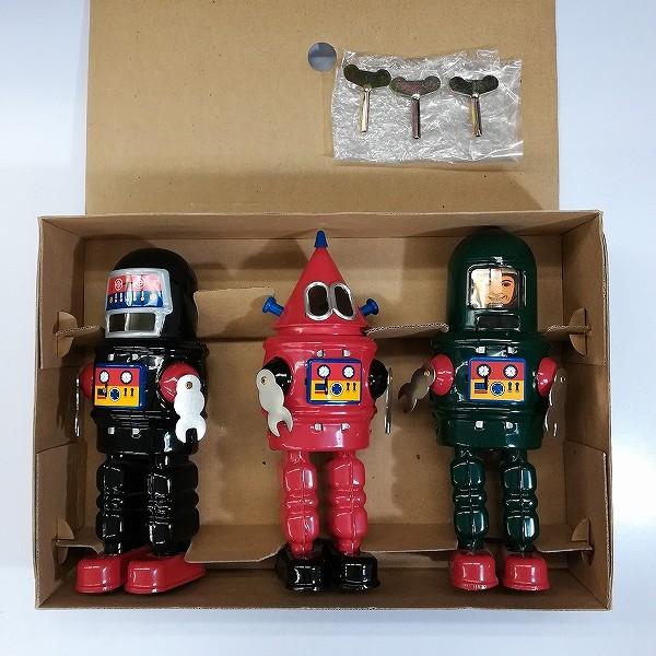 マイクインターナショナル MIKE ROBOT SERIES 3体セット ブリキ ゼンマイ_2