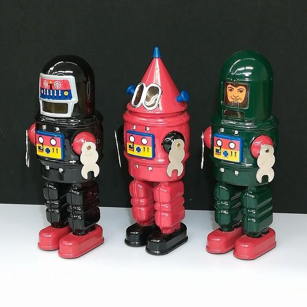 マイクインターナショナル MIKE ROBOT SERIES 3体セット ブリキ ゼンマイ_3