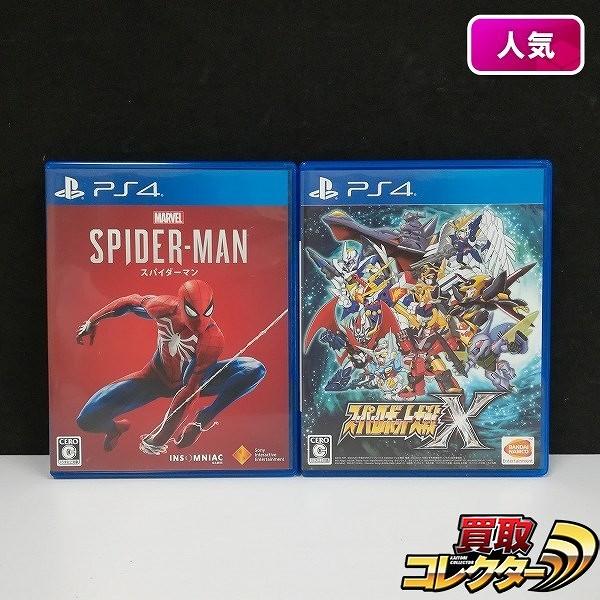 PS4 ソフト スパイダーマン スーパーロボット大戦X_1