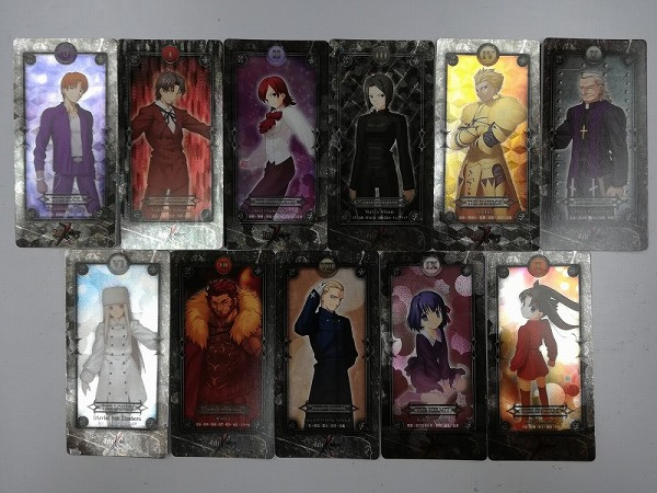 Fate/Zero トレーディングタロットカード ノーマル版 SP版 計22枚_2