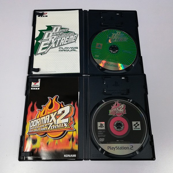 PS2 ソフト DDRMAX2 7th + Dance Dance Revolution EXTREME_3