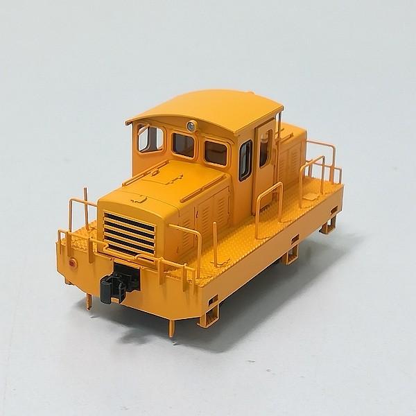ワールド工芸 16番 1/80 半キャブ 貨車移動機 タイプA 黄色_3