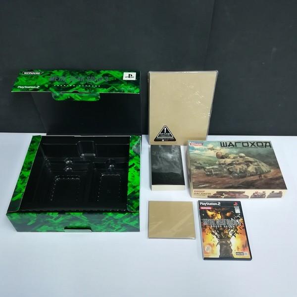 PS2 メタルギアソリッド3 スネークイーター プレミアムパッケージ + CD メタルギアソリッド3 スネークイーター THE FIRST BITE_2