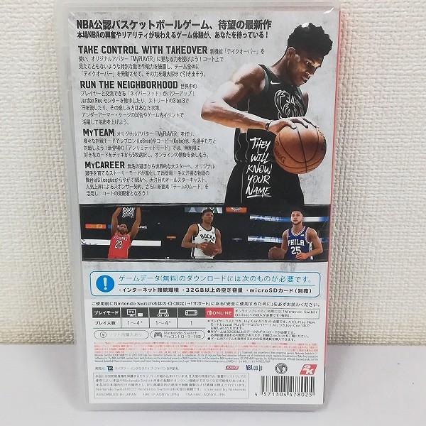 Nintendo Switch ソフト NBA 2K19_2