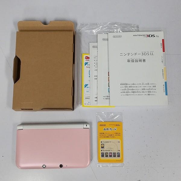 Nintendo 3DS LL ピンク×ホワイト_2